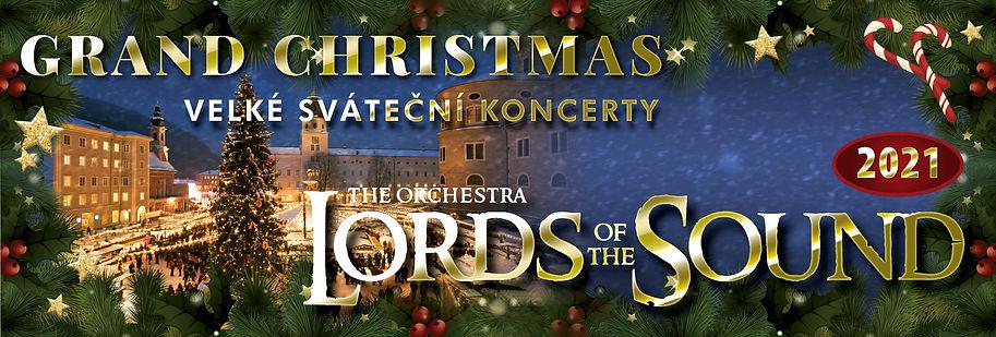 Оркестр LORDS OF THE SOUND представляє в містах Чеської Республіки, Чехії, Різдвяну концертну програму «Grand Christmas»