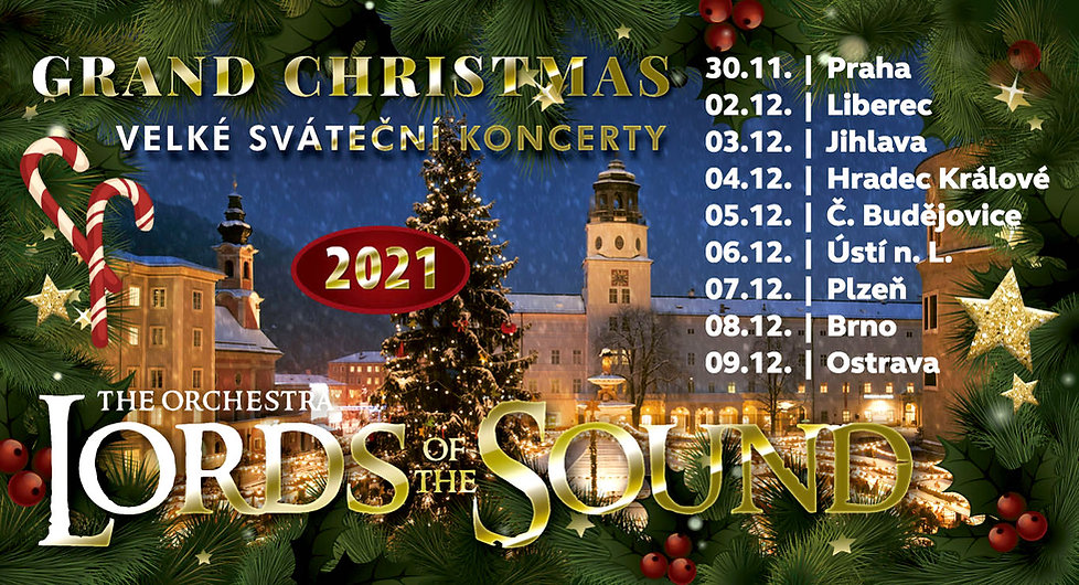 orchestr LORDS OF THE SOUND s programem Grand Christmas