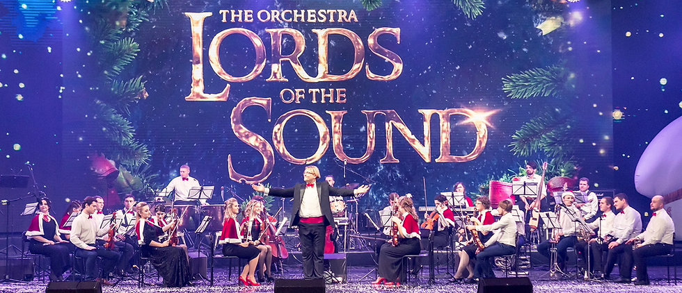 orchestr LORDS OF THE SOUND program Grand Christmas