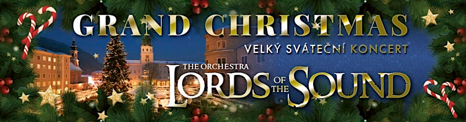 "Orchestr LORDS OF THE SOUND - vánoční program ""Grand Christmas"""