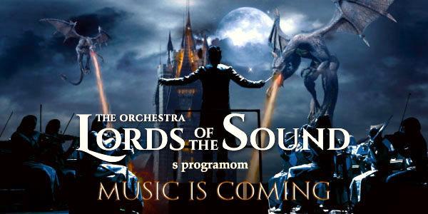 """Orchestra novej generácie LORDS OF THE SOUND s programom """"Music is coming"""" na Slovensku"""