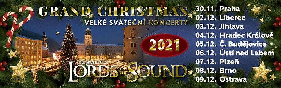 """Оркестр LORDS OF THE SOUND с Рождественской концертной программой """"Grand Christmas"""" в городах Чехии Чешской Республики"""