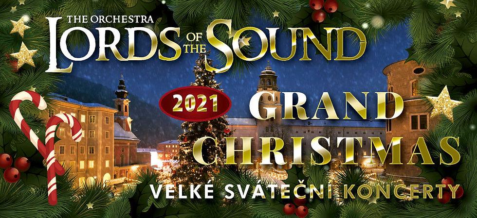 koncerty orchestru LORDS OF THE SOUND s programem Grand Christmas