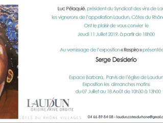 """Respiro"" Exposition à Laudun"