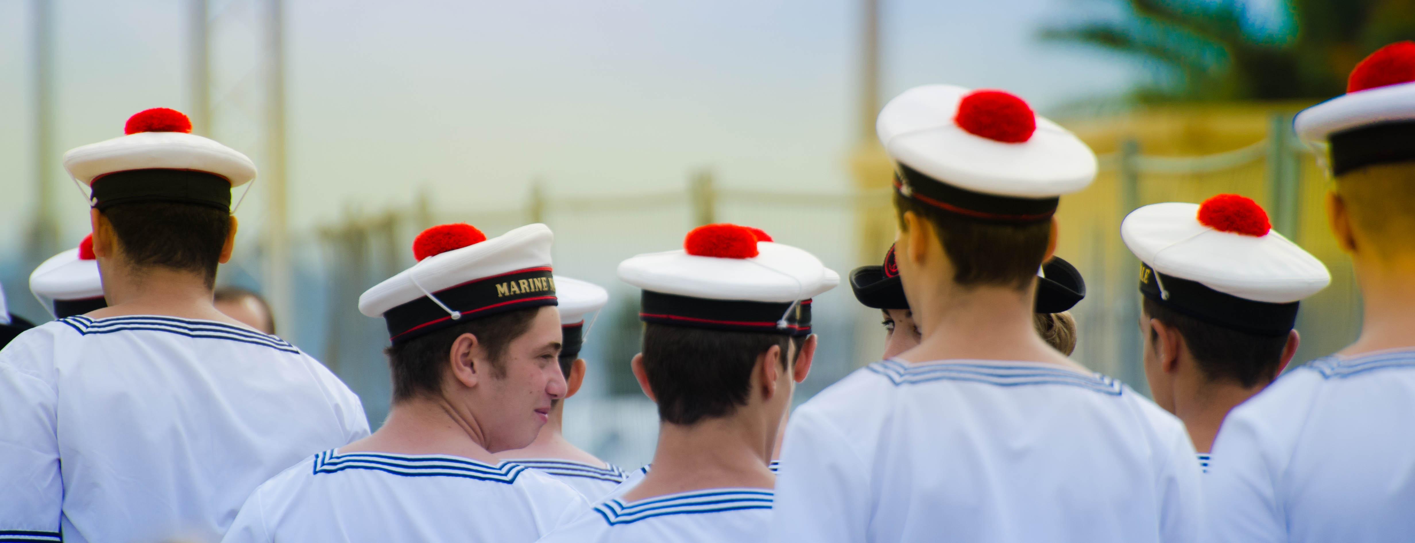 La Marine débarque