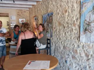 Quelques photos de la journée portes ouvertes Cave Larguier, à Trèsques