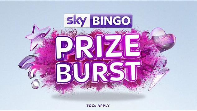 Sky Bingo Prize Burst