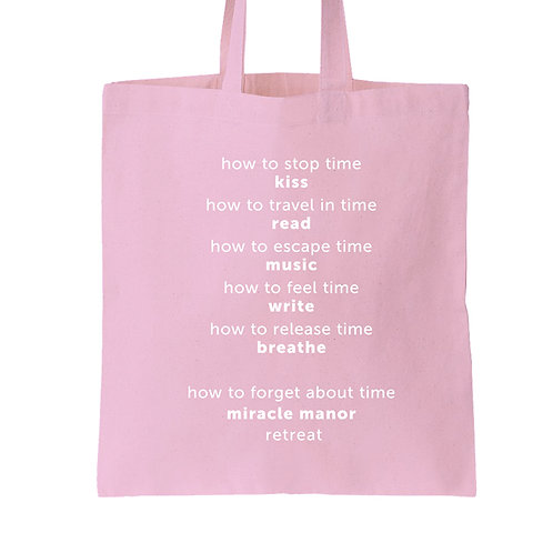 Miracle Manor tote
