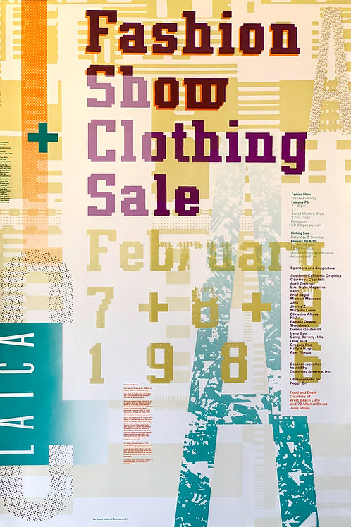 LAICA Fashion Show + Clothing Sale