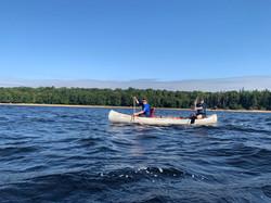 high adventure canoe