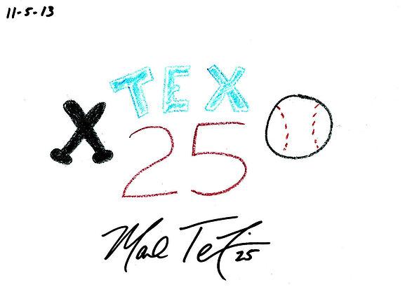 Mark Teixeira 2014