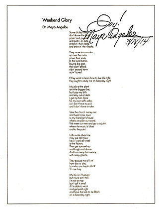 Maya Angelou 2014
