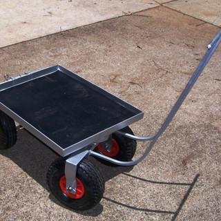 Generator trolley/kart. (steering-aspect.)