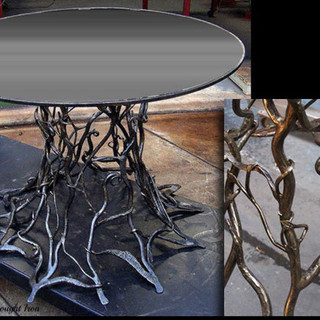 """""""Root system"""" table base"""