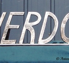 """Riverdown"" Homestead signage."