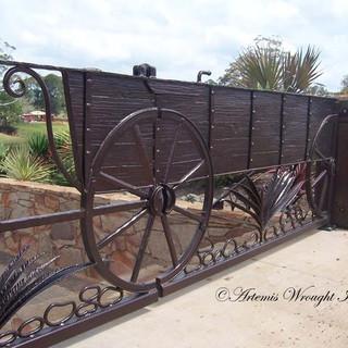 "The ""Chuck Wagon"" (close-up detail.)"