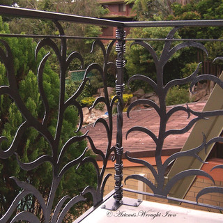 """""""Ferny grove"""" balustrade out ward view."""
