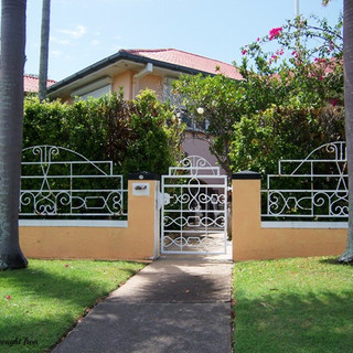 """Heritage"" listed premises pedestrian gate 3 of 3."