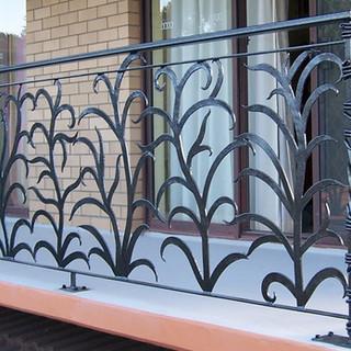 """Ferny grove"" balustrade opposite view."