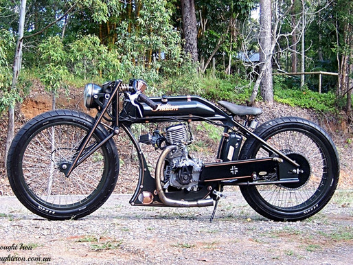1916 indian boardtrack racer replica