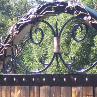 "The ""Artemis"" (vine detail.)"