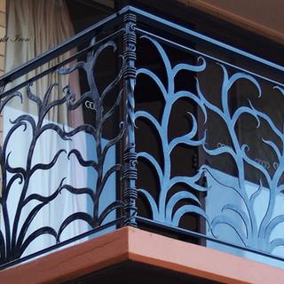 """Ferny grove"" balustrade corner post view."