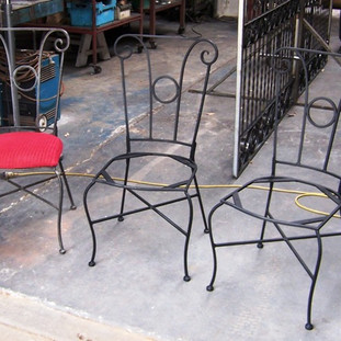 """""""Wrought iron chairs"""""""