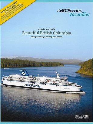 BC Ferries Vacations Brochure