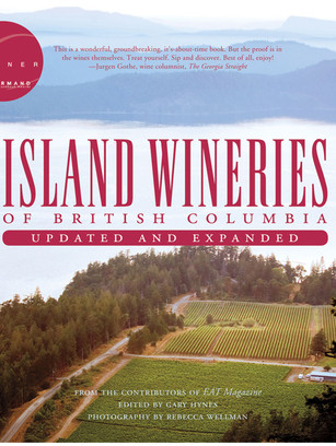 Island Wineries of British Columbia Book