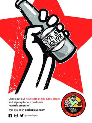 Cook St Liquor Ad Concepting