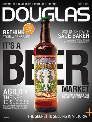Douglas Magazine cover story