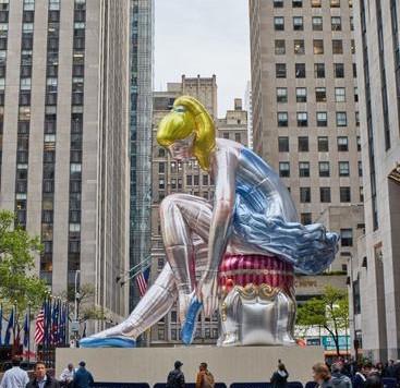 Jeff Koons's Seated Ballerina Stirs up Artist's Dark Past