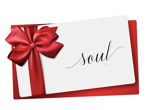 Soul Spa Gift Card