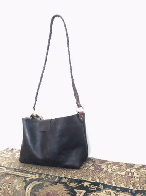 Midnight Cross Body Tote
