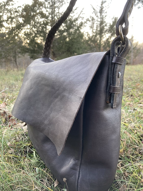 Dark Charcoal Crossbody