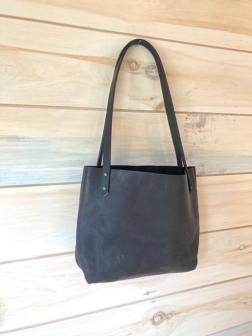 Midnight Brown Tote