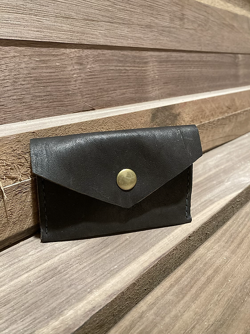 Midnight Brown Snap Wallet