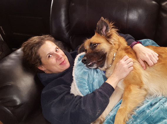 Chewie & me chillin'