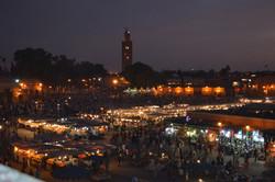 Square in Medina