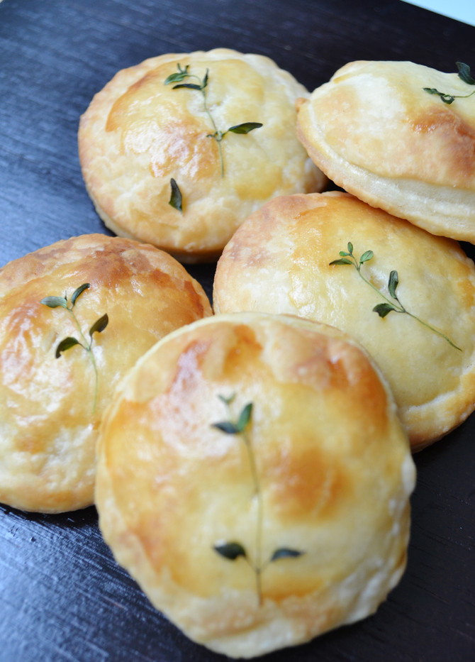 Sweet Corn Pie with Thyme