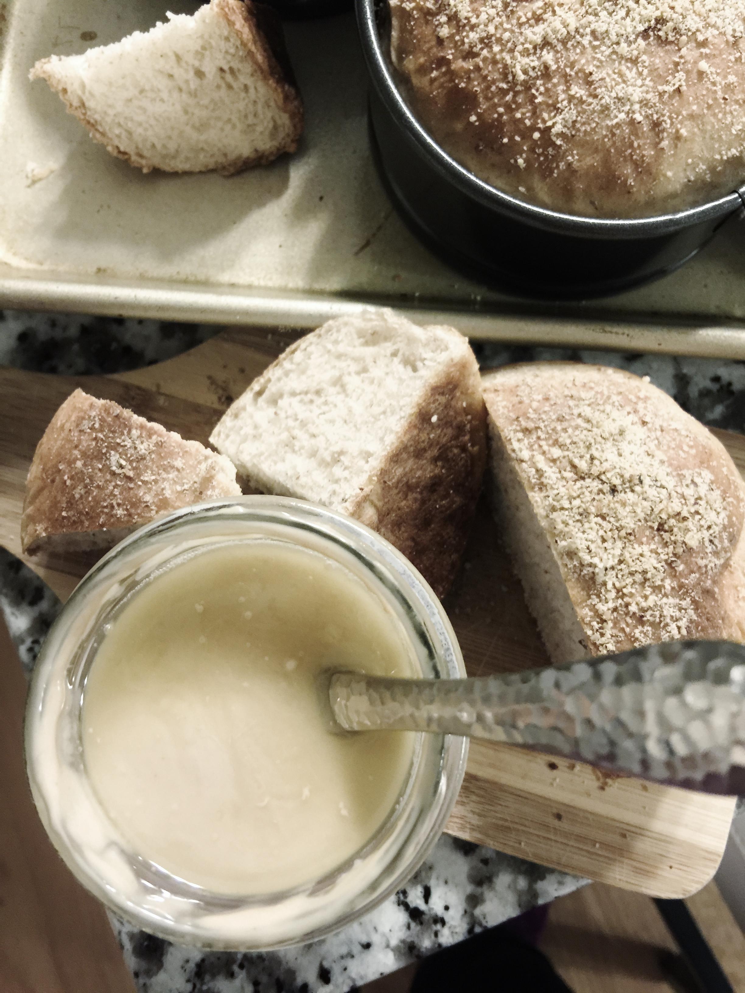 Double Hazelnut Bread