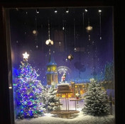 Miniture Christmas Window 1- Chik-Fil-A Special Event
