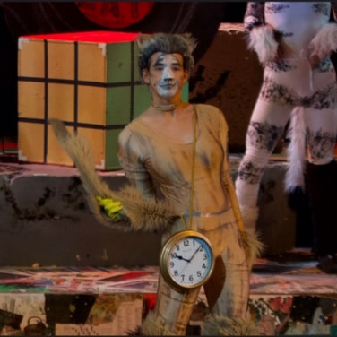 Oversized Pocketwatch and Chain - Cats the Musical