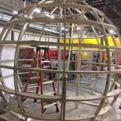 Concrete Globe Theatre (Frame) - Harry S. Truman Museum