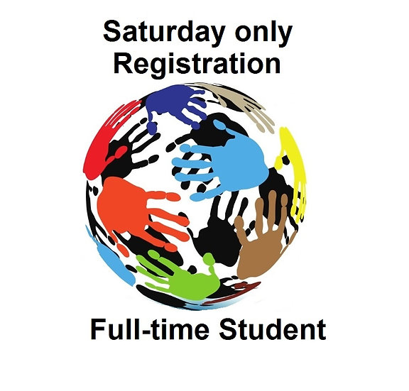 2017 Conference Sat-only Registration - Student