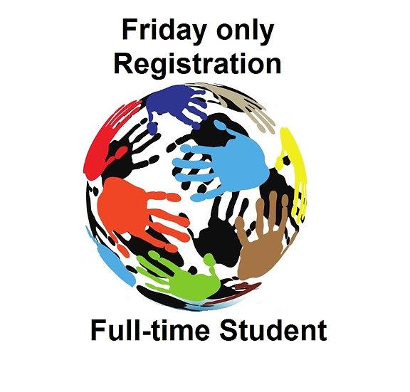 2017 Conference Fri-only Registration - Student