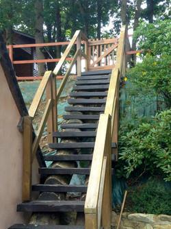 Steps to Log Cabin