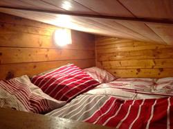 Log Cabin loft bed