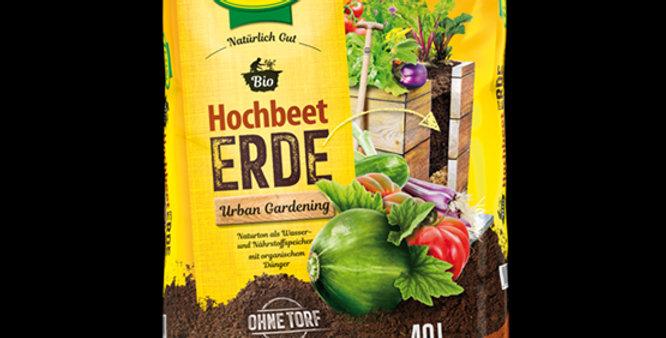 Bio Hochbeeterde - torffrei 60l