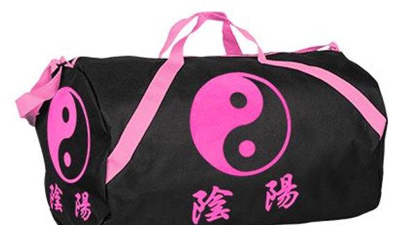Pink Yin & Yang Roll Bag